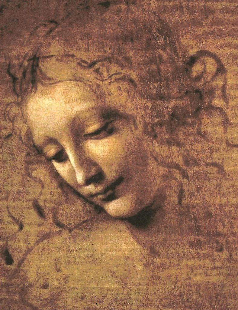 La Scapigliata, attribuée à Léonard de Vinci