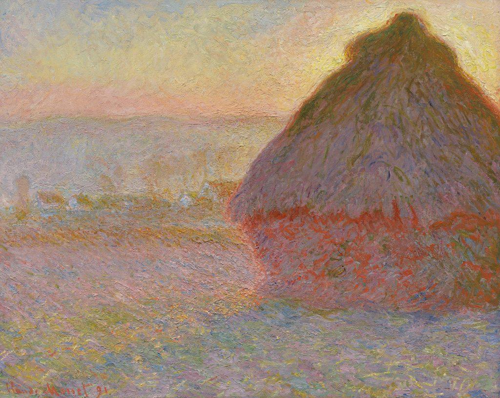 Meules de foin, Claude Monet