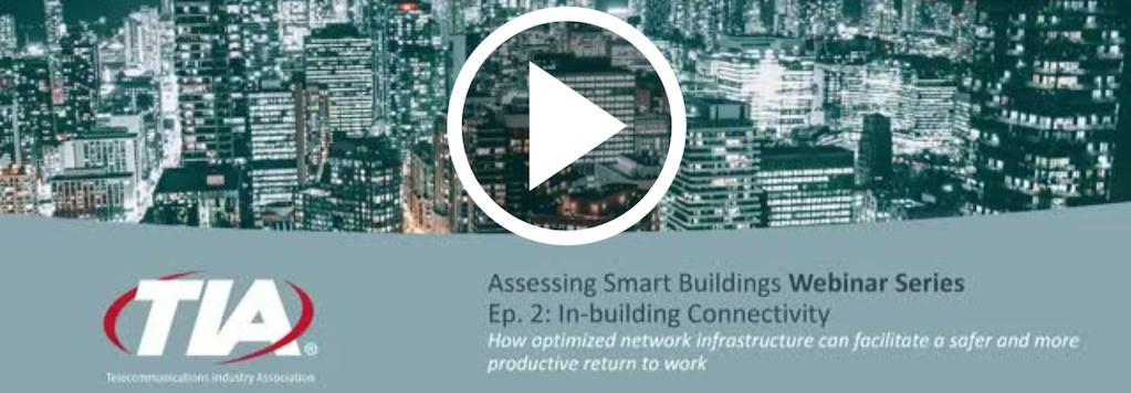 TIA Smart Buildings Webinar - Assessing Smart Buildings - June 2020-1024x356