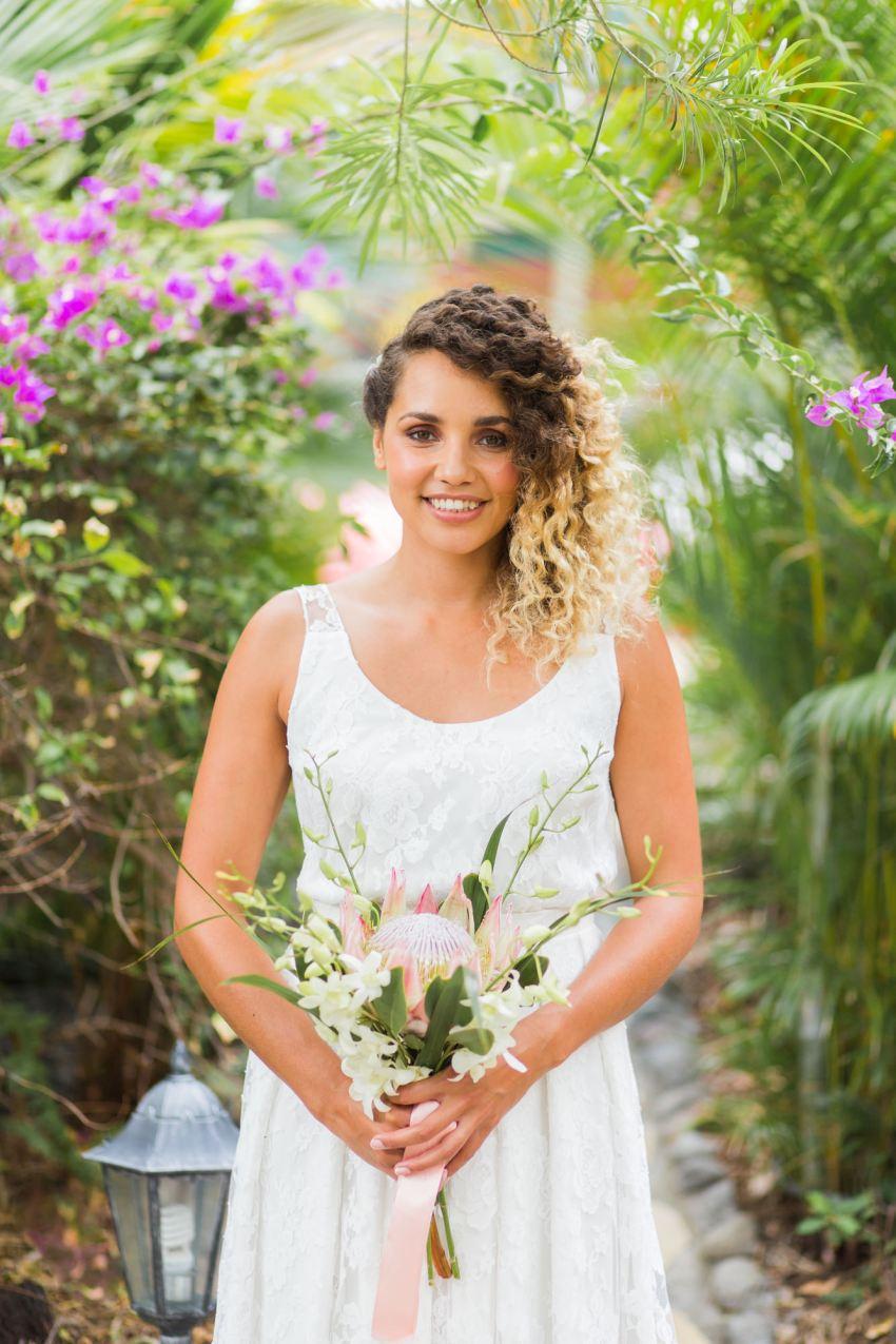 Robe mariage Elise Hameau à la Réunion