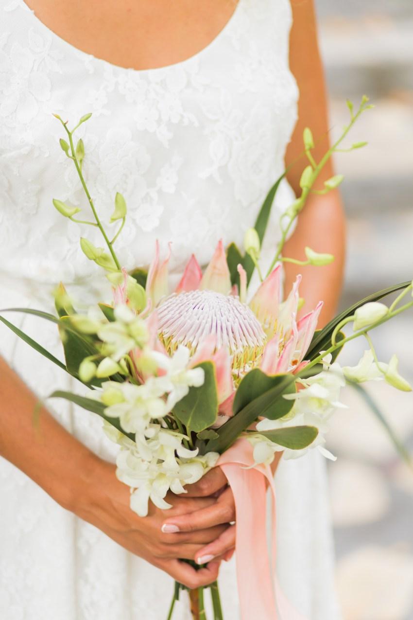 Bouquet mariée réunion par Fleur enchantée