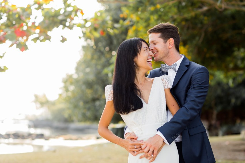 mariage maurice