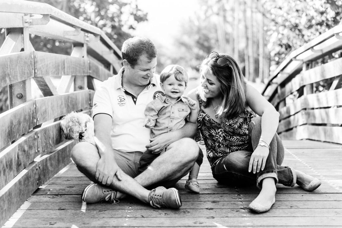 Séance famille et enfant sur Saint Paul à la Réunion