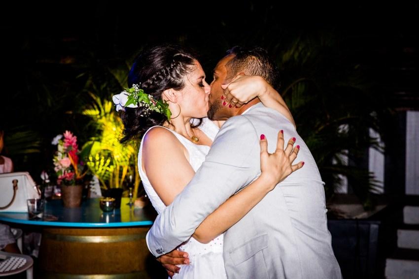 Mariage à la Réunion au Choka bleu