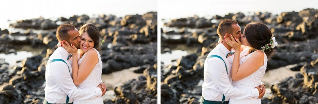 Mariage sur la plage à la Réunion