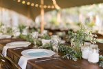 Décoration d'une réception de mariage à la Réunion aux jardins d'ama