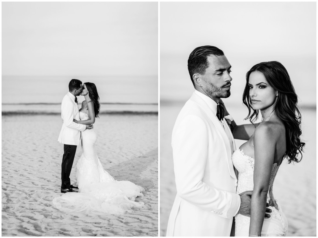 photo de couple plage de ramatuelle