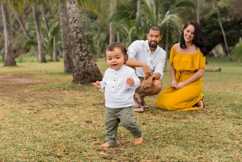 Shooting famille à la Réunion