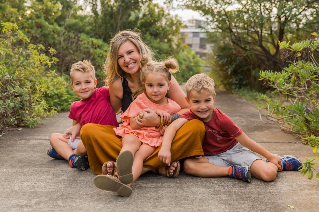 Une séance photo de famille à Beauséjour