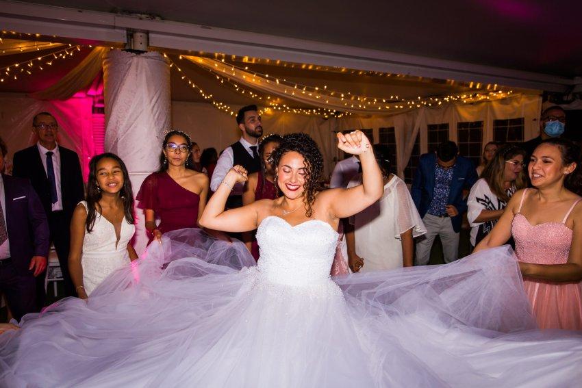 Mariage à la salle de réception du domaine des mille cocos par dj niaka