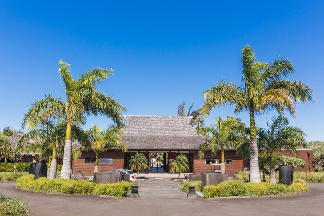 réception du palm hôtel