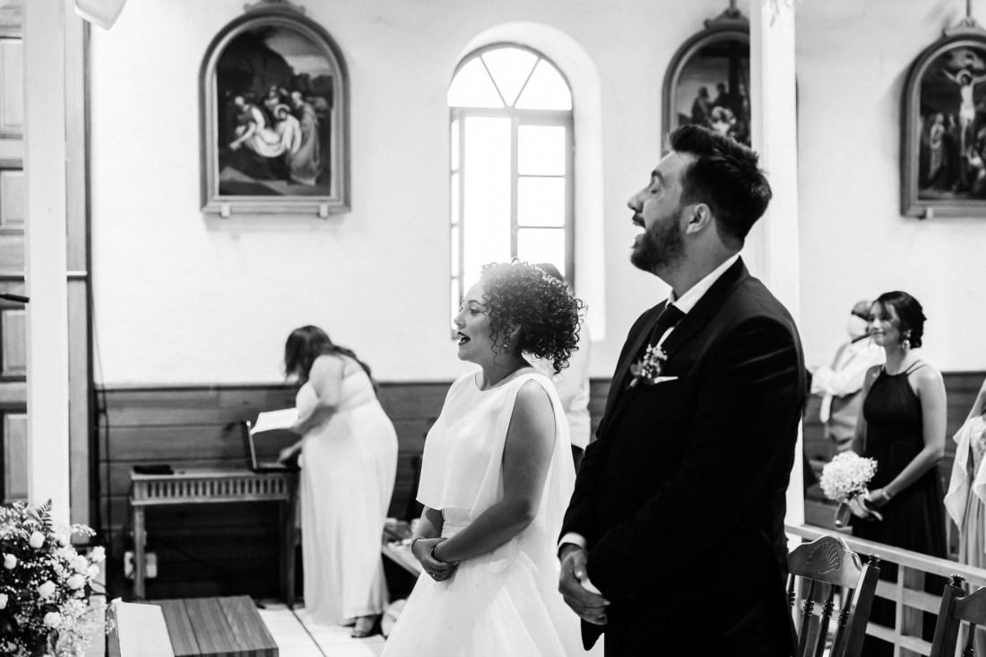 Cérémonie de mariage en l'Eglise de Mont Vert à la Réunion