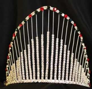 CHRC5 Adjustable Band Holiday Crown