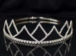Adjustable Band King Crown