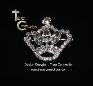 Crown Sash Pin