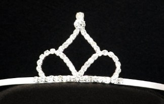 tiara with side combs
