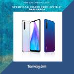 Spesifikasi Xiaomi Redmi Note 8T dan Harga