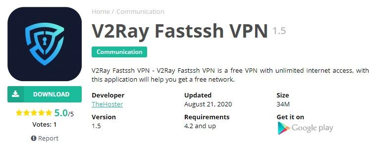 V2ray Fastssh VPN
