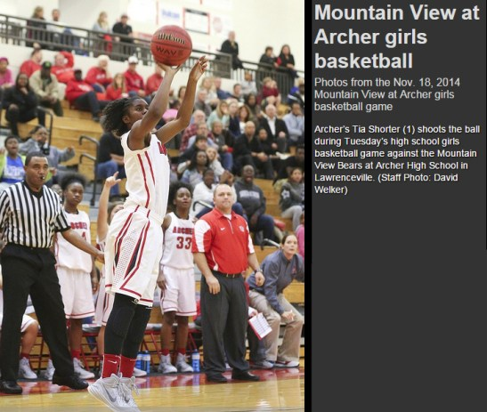 (11.18.2014) Mountain View vs Archer - 1 (After Buzzer Shot - with write up)