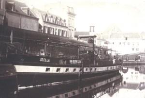 Boot Stella Bonhomme bij O.L. Vrouwekade ±1894