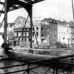 Graanmarkt 1962 vanuit stadspark