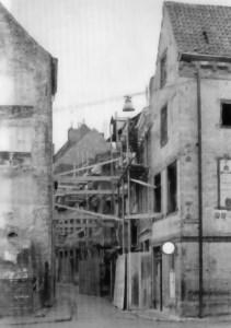 Grote Stokstraat 1962 - panden vóór restauratie