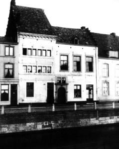 Hasseltkade v. huisnr. 23 Anno 1641 foto-a 1930
