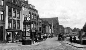 Kesselskade met klok 1934