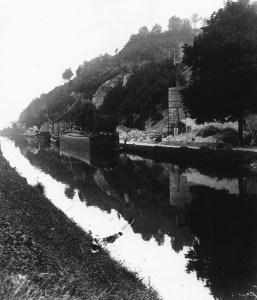 Lage Kanaaldijk ruine Lichtenberg ca 1955