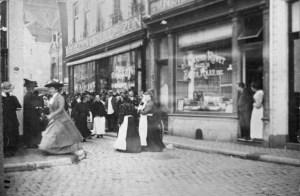 Markt hoek Spilstraat ±1900