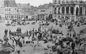 Markt Koemarkt ±1900