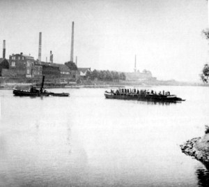 Sleepboot Gabrielle Waterpoort-Bleekerij 1945