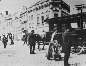 Vrijthof Omnibus Kerbusch 1904