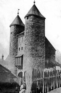 Helpoort vóór restauratie ±1898