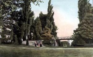 Ingelsen Hoof 1905 met brug (flaneren)