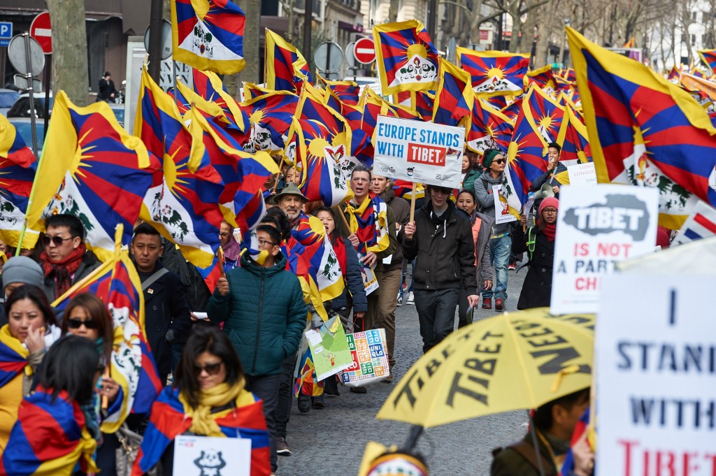 Europe Stands with Tibet is an inspiration and sends hope to Tibetans ...