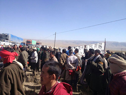 Tibetan villagers protest forced acquisition of grazing land, two ...