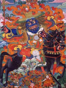 Tibetan Buddhism Iconographic King-of-Speech