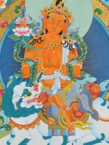 Tibetan Buddhism Iconographic MANJUGHOSA