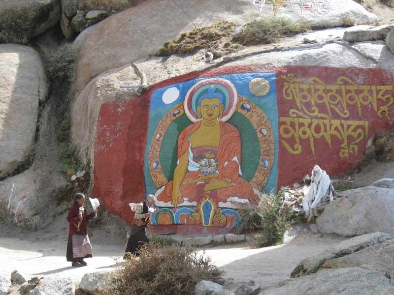 Sera Monastery pilgrims