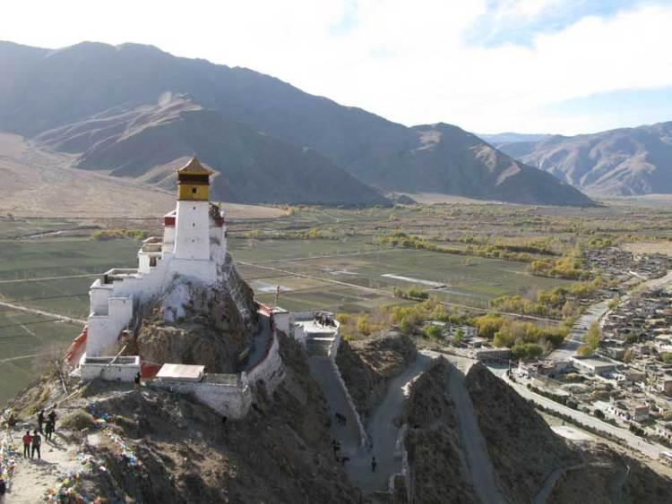 Tibet king palace