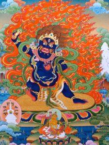 Tibetan Buddhism Iconographic Vajrapani Chakna Dorje