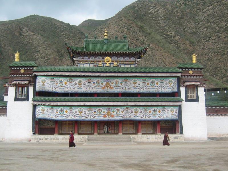 Labrang Monastery main hall
