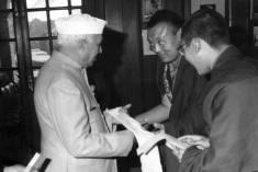 دالای لاما - نهرو - 1960