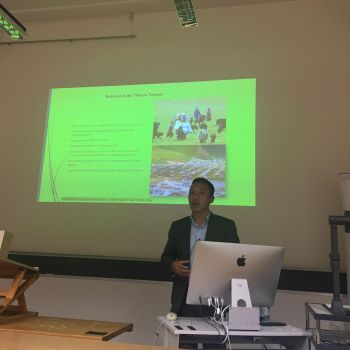 TIBET POLICY INSTITUTE RESEARCHER SPEAKS AT THE UNIVERSITY OF ZURICH