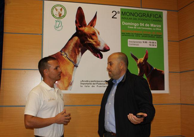 La Oliva acoge este domingo la segunda monográfica del perro podenco canario