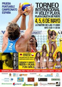 Torneo Internacional de Voley Playa