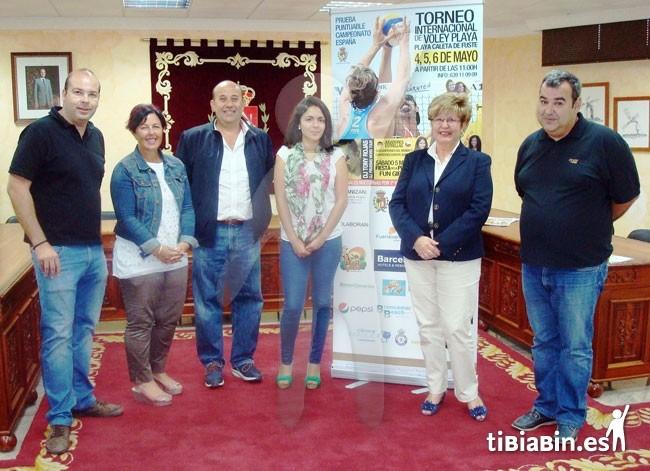 Caleta de Fuste acoge un torneo internacional de voley playa puntuable para el campeonato de España