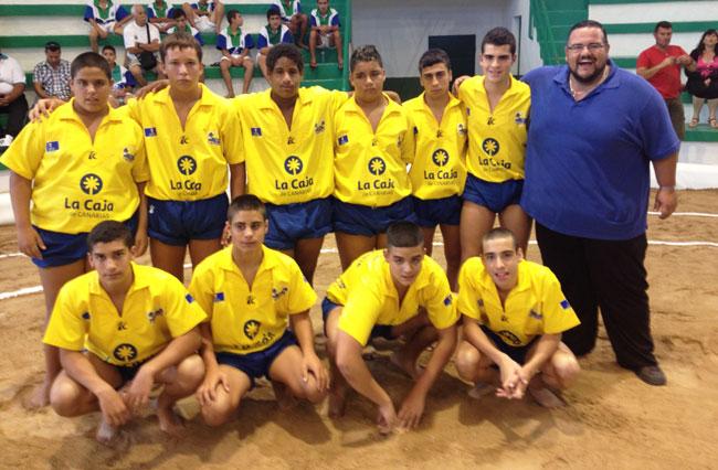 Lanzarote pierde apretadamente ante Gran Canaria