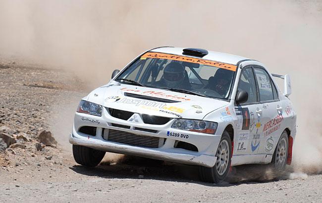 Sosa-Peñate alcanzaron una contundente victoria en la primera cita del Campeonato FuerteMotor – Isla de Fuerteventura
